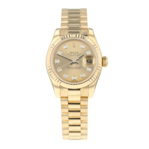 Pre-Owned Rolex Datejust 26 Ladies Watch 179178
