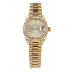 Pre-Owned Rolex Datejust 28 Ladies Watch 279178