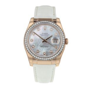 Pre-Owned Rolex Datejust Ladies Watch 116185