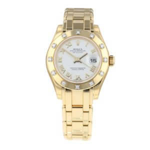 Pre-Owned Rolex Datejust Pearlmaster Ladies Watch 80318