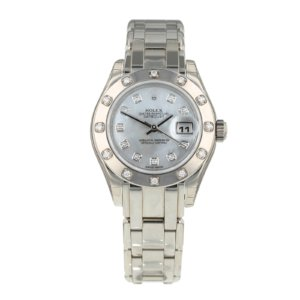 Pre-Owned Rolex Datejust Pearlmaster Ladies Watch 80319