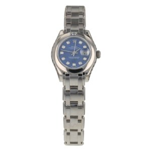 Pre-Owned Rolex Datejust Pearlmaster Ladies Watch 80329