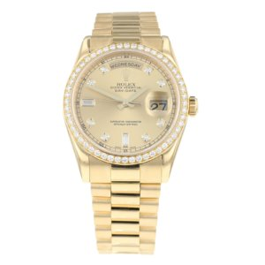 Pre-Owned Rolex Day-Date Mens Watch 118348