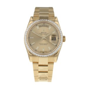 Pre-Owned Rolex Day-Date Mens Watch 118398BR