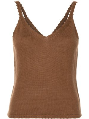 Reformation Wisteria knitted top - Brown
