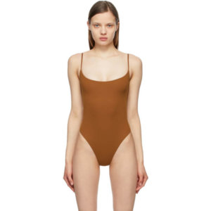 SKIMS Brown Fits Everybody Cami Bodysuit