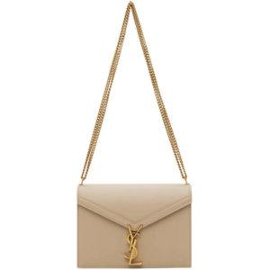 Saint Laurent Beige Medium Cassandra Bag