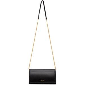 Saint Laurent Black Mini Paris Shoulder Bag