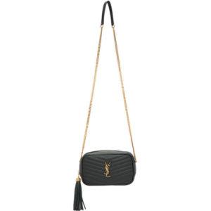 Saint Laurent Green Mini Lou Chain Bag