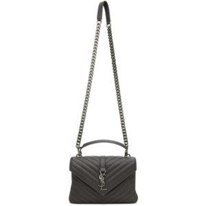 Saint Laurent Grey Medium College Bag