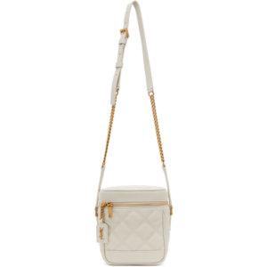 Saint Laurent Off-White 80s Vanity Bag