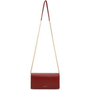 Saint Laurent Red Mini Paris Shoulder Bag
