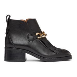See by Chloe Black Mahe Boots