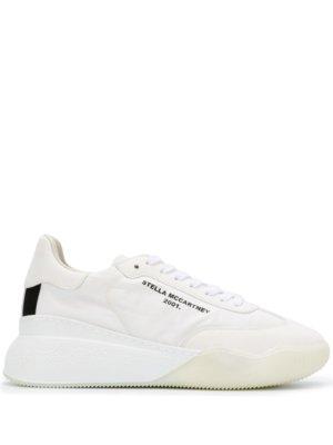 Stella McCartney Loop lace-up sneakers - White