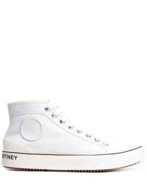 Stella McCartney Stella logo high-top sneakers - White