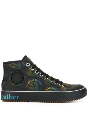 Stella McCartney We Are The Weather high-top sneakers - Black