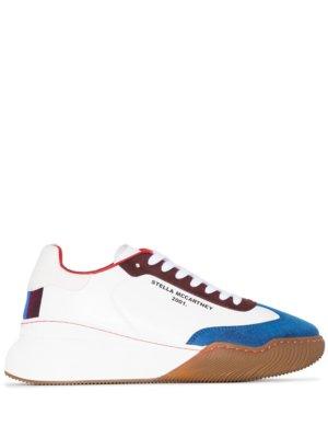 Stella McCartney colour-block sneakers - White