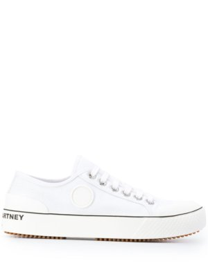 Stella McCartney low-top lace-up sneakers - White