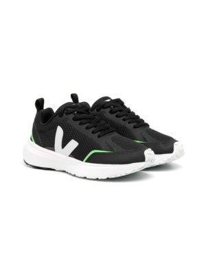 Veja Kids low-top sneakers - Black