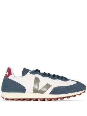 Veja Rio-Branco Hexamesh colour-blocked sneakers - Blue