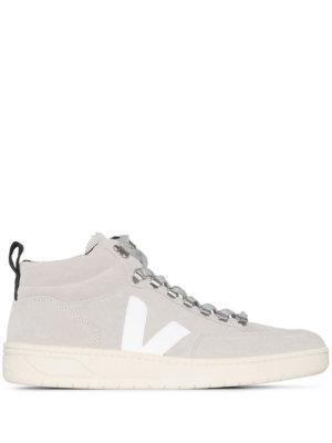 Veja Roraima suede high-top sneakers - Grey