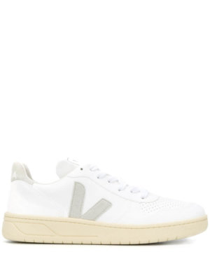 Veja low-top lace up sneakers - White