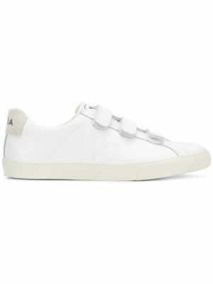 Veja touch strap sneakers - White