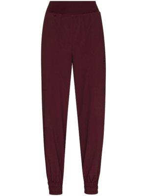 adidas by Stella McCartney embroidered logo track pants - Purple