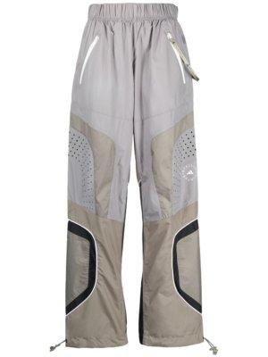 adidas by Stella McCartney panelled track pants - Grey