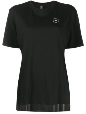 adidas by Stella McCartney short-sleeved performance T-shirt - Black
