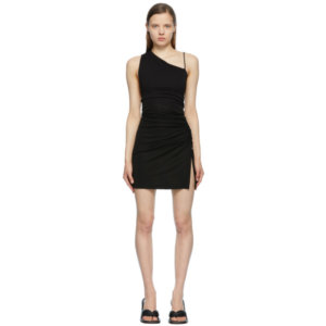 1017 ALYX 9SM Black Draped Mini Dress
