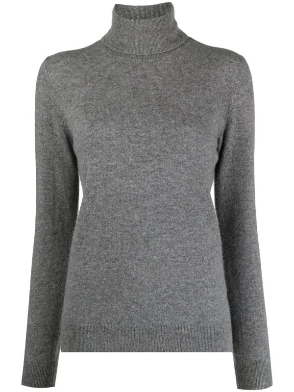 roll-neck cashmere jumpe