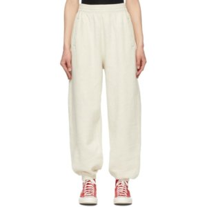 AGOLDE Off-White Balloon Lounge Pants