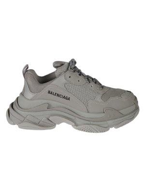 Balenciaga Side Logo Platform Sneakers