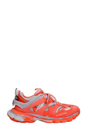 Balenciaga Sneakers In Red Leather