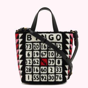 Black Mini Bingo Bibi Tote
