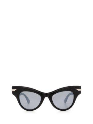 Bottega Veneta Bottega Veneta Bv1004s Black Sunglasses