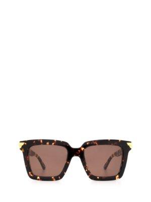 Bottega Veneta Bottega Veneta Bv1005s Havana Sunglasses