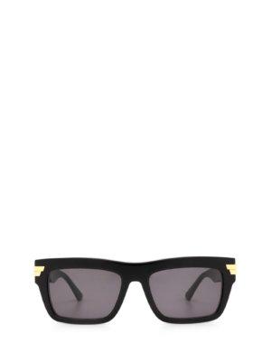 Bottega Veneta Bottega Veneta Bv1058s Black Sunglasses