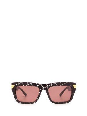Bottega Veneta Bottega Veneta Bv1058s Burgundy Sunglasses