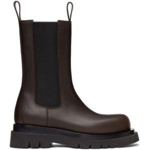 Bottega Veneta Brown The Lug Boots