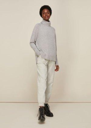 Cashmere Roll Neck Knit