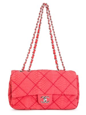 Chanel Pre-Owned 2010 2.55 flap shoulder bag - Red