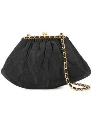 Chanel Pre-Owned chain shoulder bag - Black