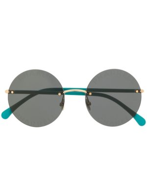 Chanel Pre-Owned x Pharrell Williams 2019 rounded sunglasses - Green