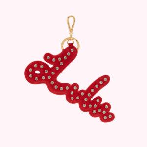 Classic Red Lulu Keyring