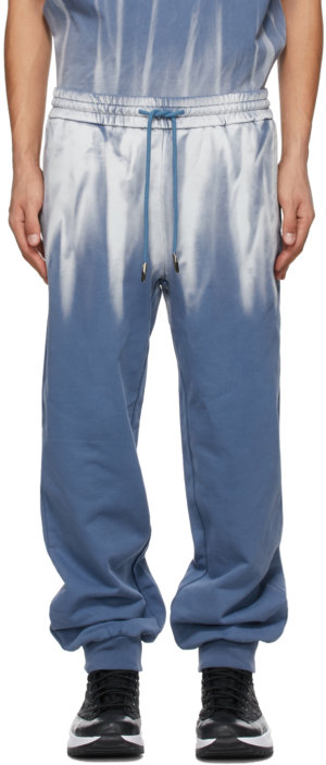 Feng Chen Wang Blue Tie-Dye Lounge Pants
