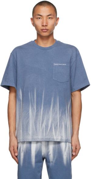 Feng Chen Wang Blue Tie-Dye T-Shirt