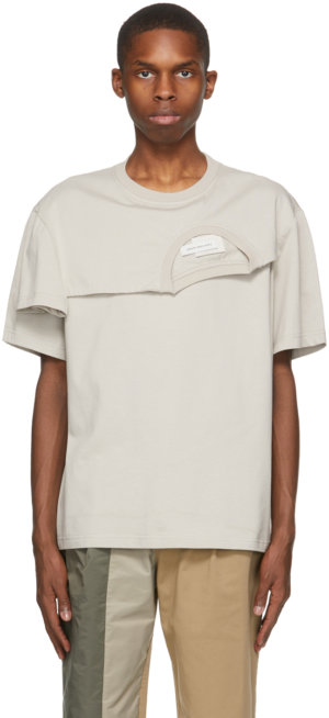 Feng Chen Wang Grey 2-In-1 T-Shirt