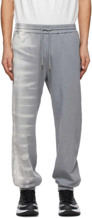 Feng Chen Wang Grey Tie-Dye Lounge Pants